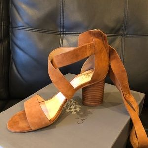 Vince Camuto Tie Up Heeled Sandals